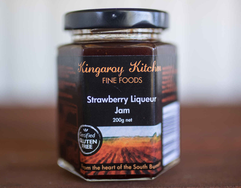 Strawberry Liqueur Jam