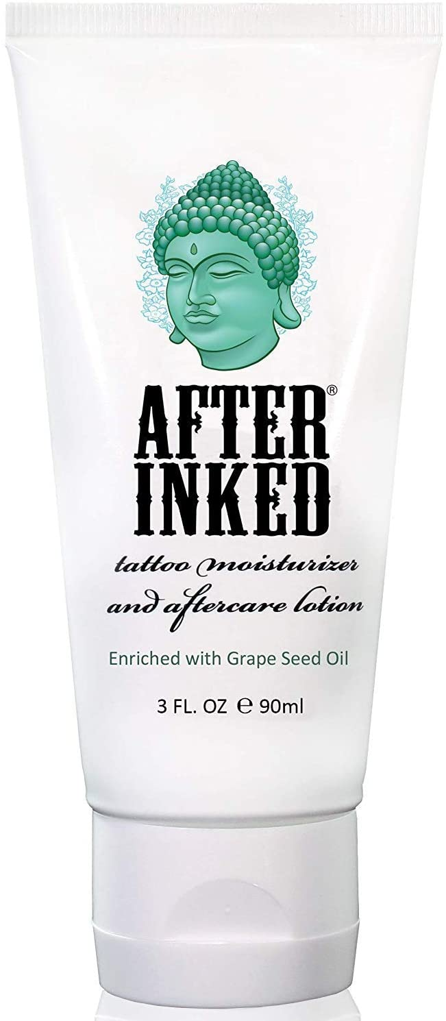 After Inked Tattoo Moisturizer & Aftercare Lotion 3oz Tube