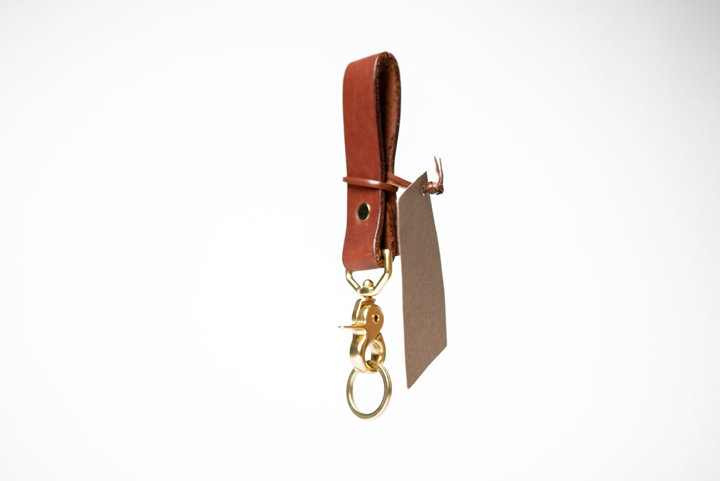 Mountain Face Leather Goods - Leather Lanyard