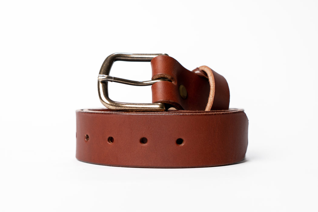 Mountain Face Leather Goods - Leather Belt
