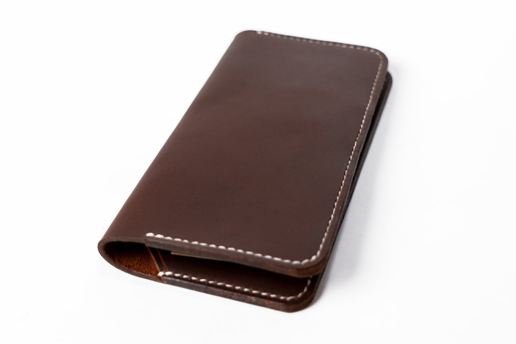 Mountain Face Leather Goods - Long Wallet