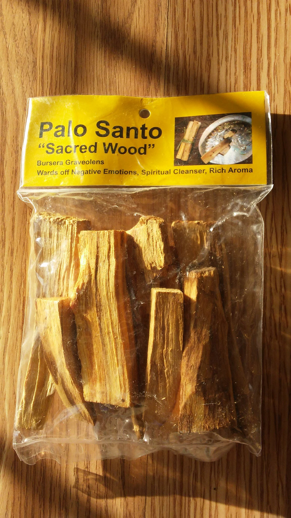 Palo Santo Holy Wood** Blessing, Healing, Purifying, Good Luck, Removes Bad  Energy