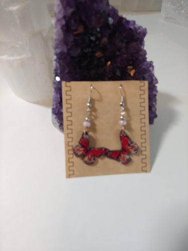 Handmade Beautiful Butterfly Earrings - Spiritual Magic Journey