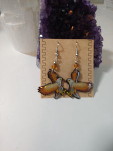 Handmade Eagle Earrings - Spiritual Magic Journey