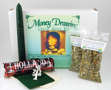 Money Drawing Ritual Kit DIY Money Drawing Spell Kit