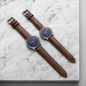 Montre 1969 VINTAGE MIDNIGHT Bleu & Or