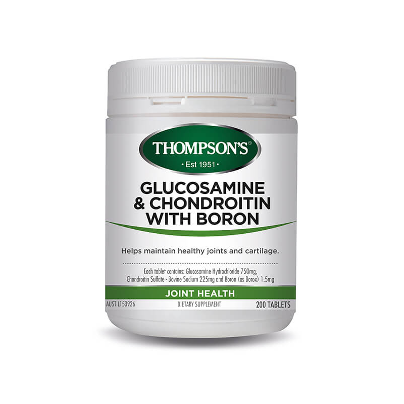 Thompson's Glucosamine and Chondroitin with Boron