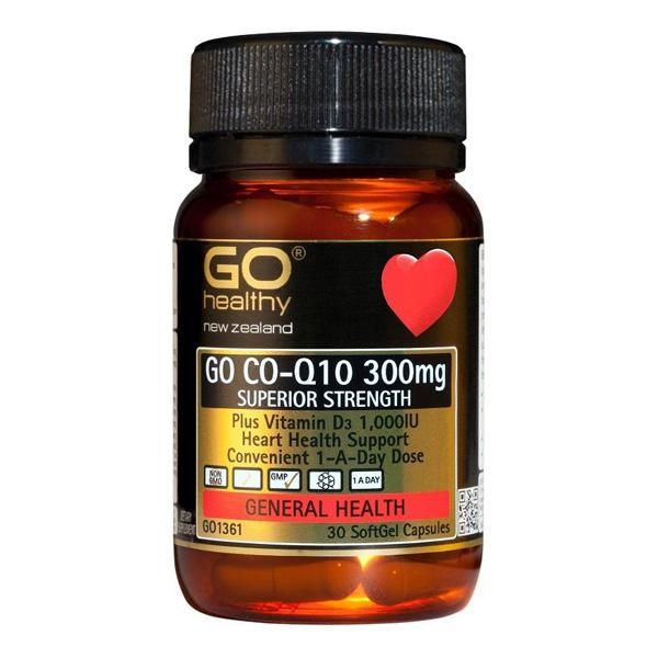 GO CO-Q10 300mg Vitamin D3