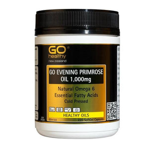Go Evening Primrose Oil 1000mg