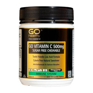 Go Vitamin C 500mg Sugar Free Chewable