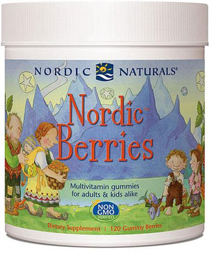 Nordic Naturals Berries Multivitamin Gummies