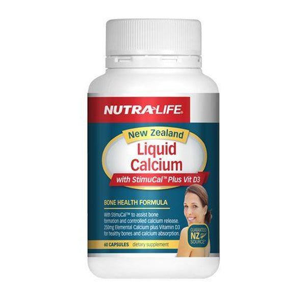 Nutra Life Liquid Calcium Plus Vitamin D