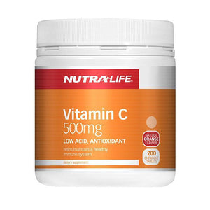 Nutra Life Vitamin C 500mg Chews