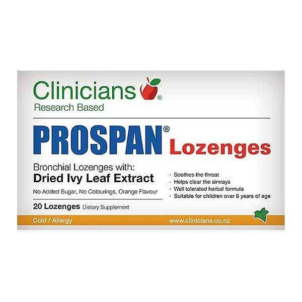 Clinicians Prospan Lozenges 20pack
