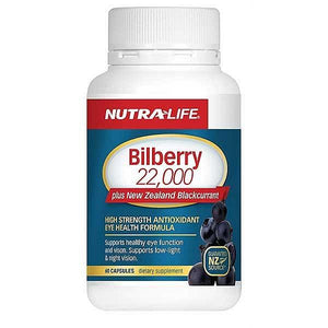 Nutra Life Bilberry 22,000mg