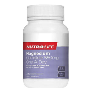 Nutra Life Magnesium Complete 550mg One-A-Day