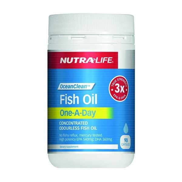 Nutra Life Fish Oil Ocean Clean One-A-Day