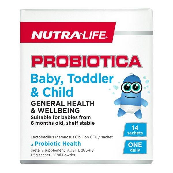 Nutra Life Probiotica Baby, Toddler and Child 14sachets