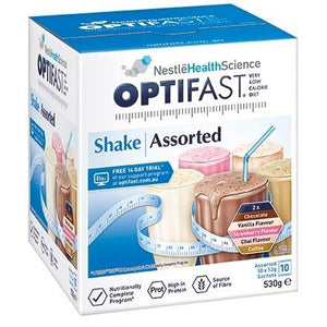 Optifast VLCD Assorted Shakes Pack 10x53g