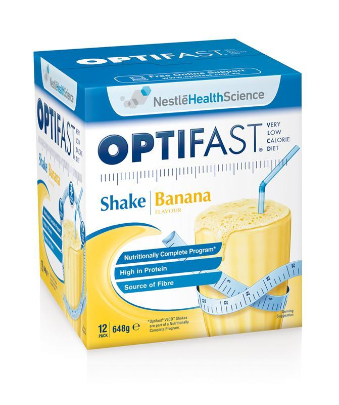 Optifast VLCD Shake Banana