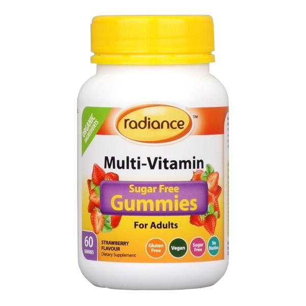 Radiance Sugar Free Multi Vitamin Gummies For Adults