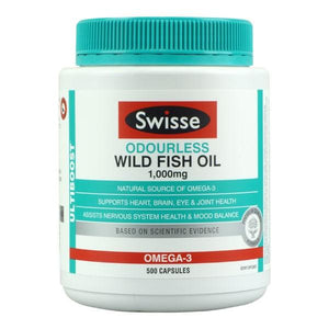 Swisse Ultiboost Wild Odourless Fish Oil
