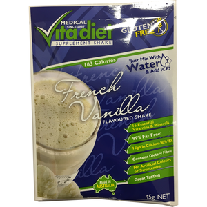 Vita Diet French Vanilla Shakes 45g