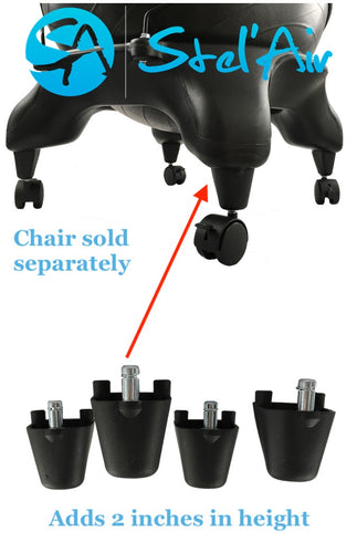 Ball Chair Height Adaptor, Leg Extender LS-496
