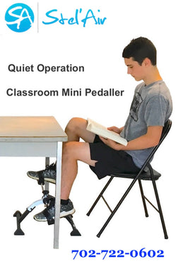 Stel'Air Classroom Deluxe Folding Pedal Exerciser VU-836