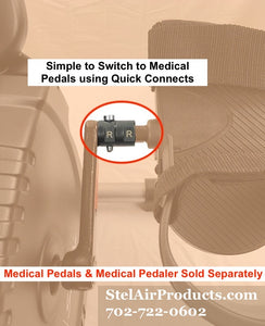 Medical Pedal Quick Connects JC-675