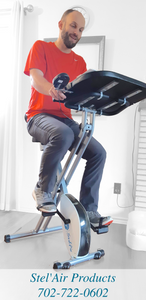 Folding Upright Desk Bike JL-278