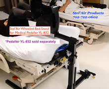 Stel'Air Wheeled Bed Stand & Clamp XF-937SC