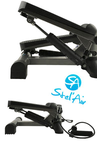 Stel'Air Mini Stepper with Resistance Bands TSVF-792