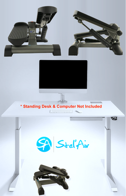 Stel'Air Standing Desk Mini Stepper QT-875