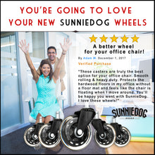Load image into Gallery viewer, SunnieDog Office Chair Wheels - SunnieDog