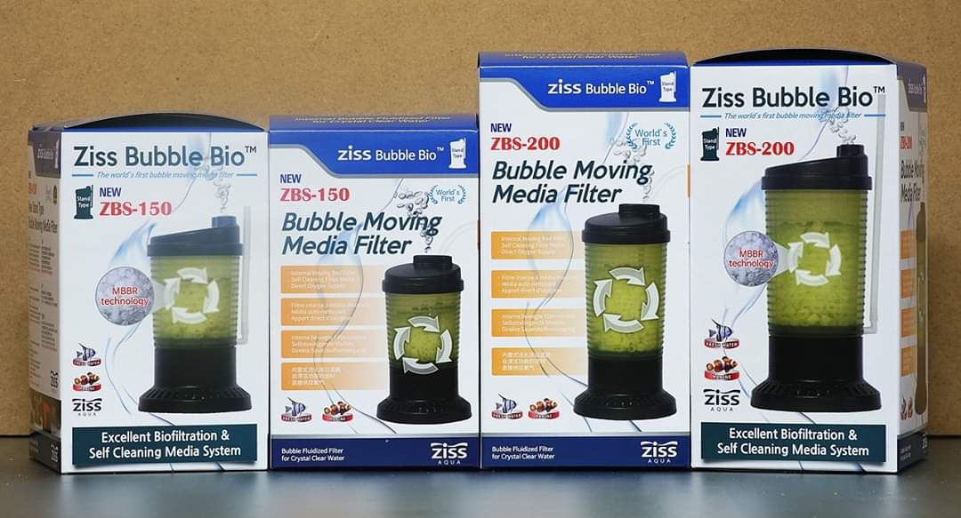 ZISS Bubble Moving Media Filter ZBS-150