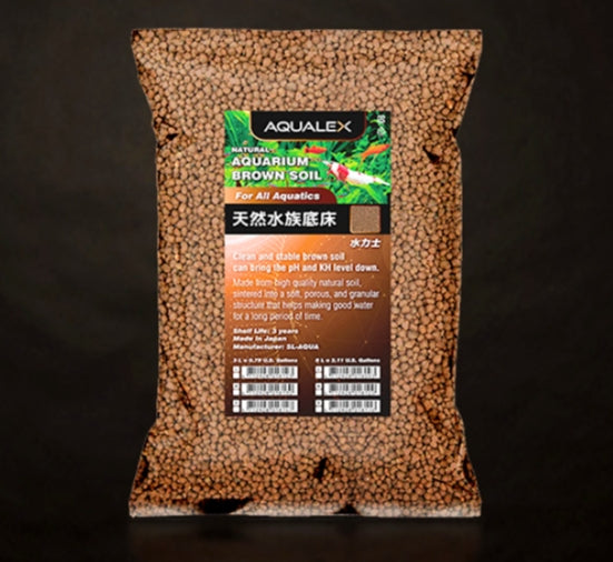 Aqualex Natural Aquarium Brown Soil