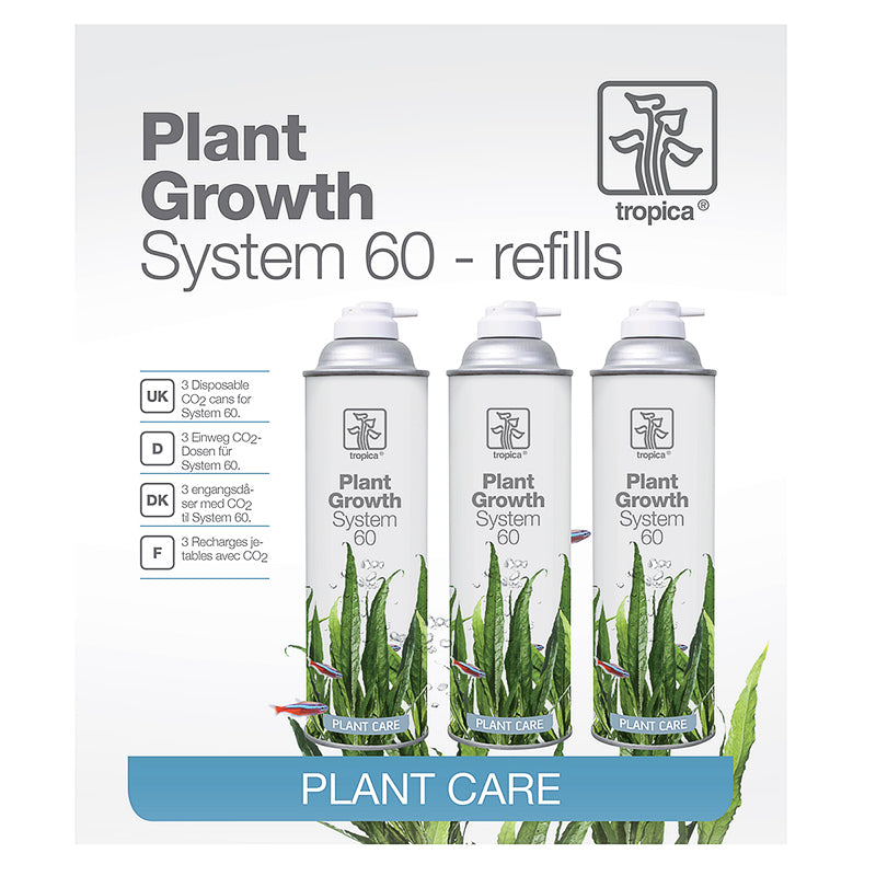 Tropica CO2 System 60 Refills