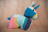 Animalito unicornio colores - TOCO MADERA - Handcraft shoe from Mexico - Zapato artesanal