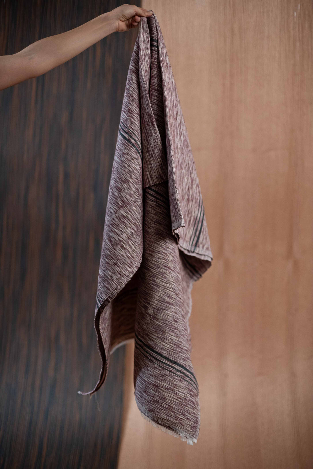 Gray wine towel - TOCO MADERA - Handcraft shoe from Mexico - Handmade shoe