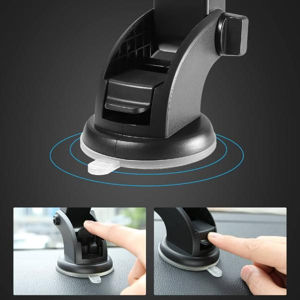 Automatically Locking Windshield Phone Holder (Universal Fit) - Bigtime Gadgets