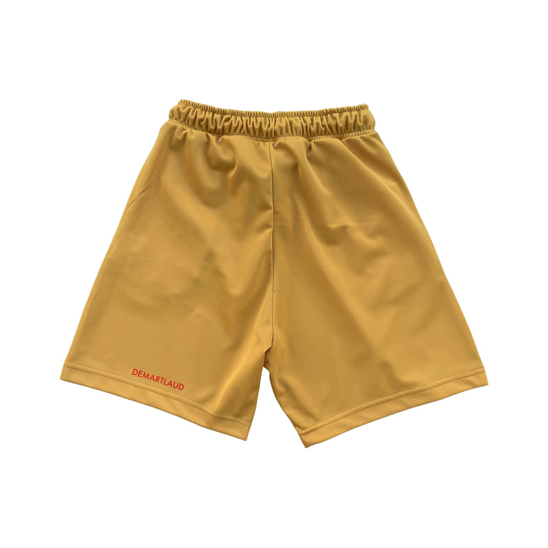 Shorts Double Line Mustard
