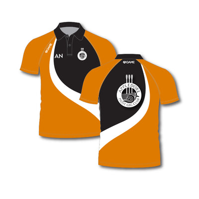 Appledore Mens Sublimated Polo Shirt