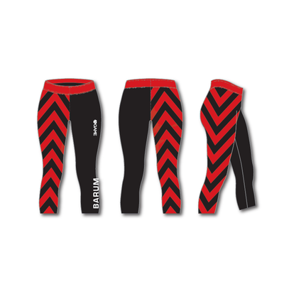 BPGC Womens 3/4 Leggings Chevrons