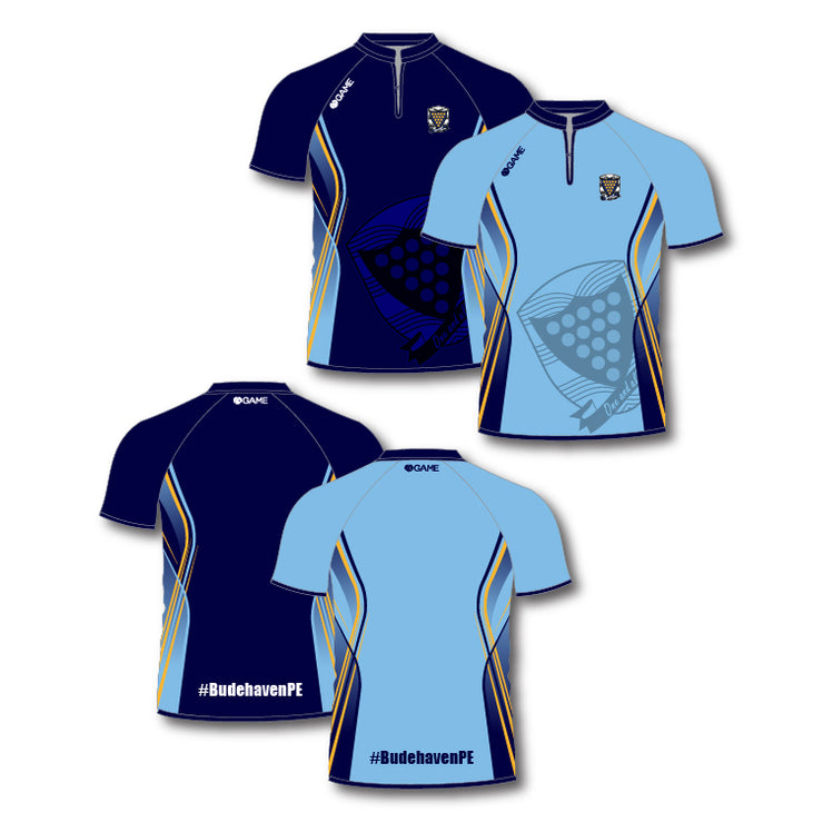 Budehaven School Adult Rugby Shirt