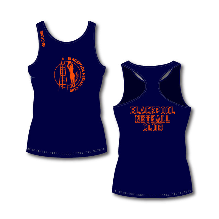 Blackpool NC Adult Training Vest (Navy)