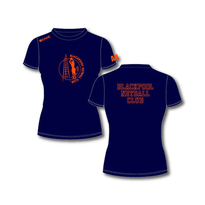 Blackpool NC Junior Training Tee (Navy)