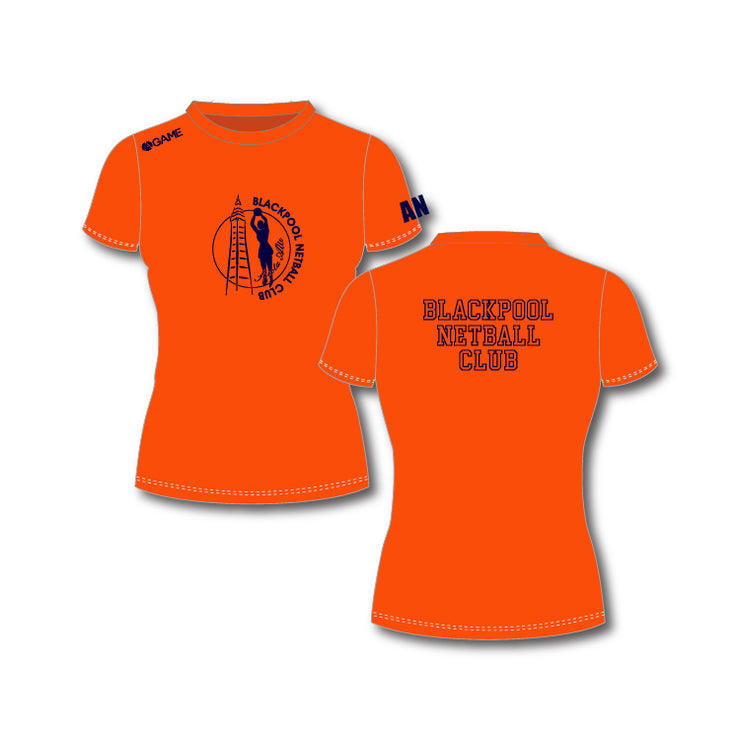 Blackpool NC Adult Training Tee (Orange)