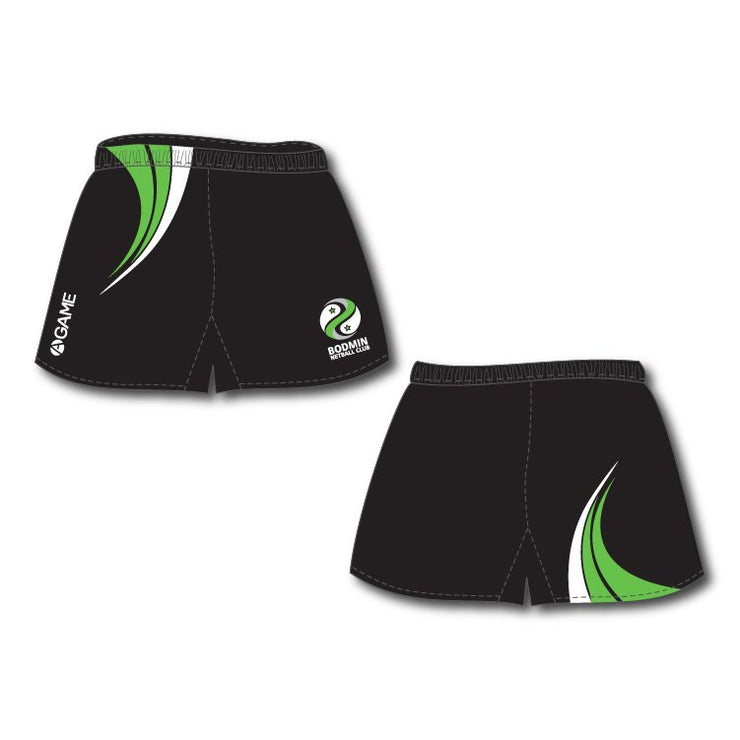 Bodmin NC Junior Sublimated Shorts