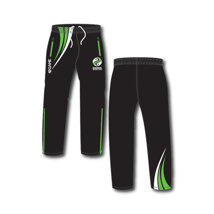 Bodmin NC Junior Sublimated Tracksuit Bottoms